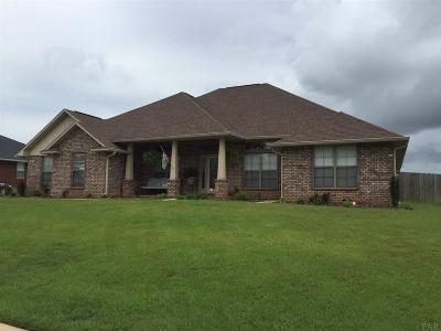 Cantonment Single Family Home For Sale: 2801 Carrington Lakes Blvd