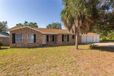 Gulf Breeze Single Family Home For Sale: 4821 Martina Way