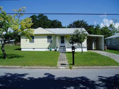 Pensacola Single Family Home For Sale: E 3300 Blount St