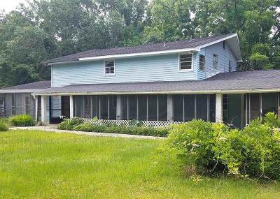 Milton Single Family Home For Sale: 6387 Michigan Ave