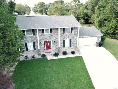 Pensacola Single Family Home For Sale: 4204 Rosebud Ct