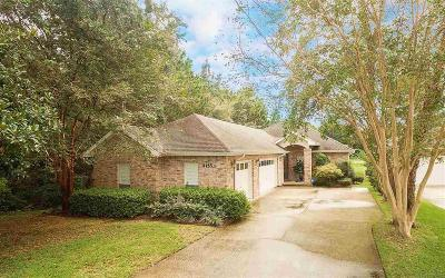 Gulf Breeze Single Family Home For Sale: 4155 Oak Pointe Dr