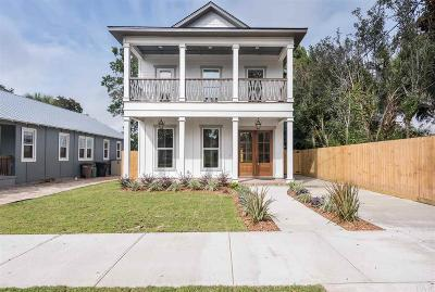 Pensacola Single Family Home For Sale: E 1110 Blount St