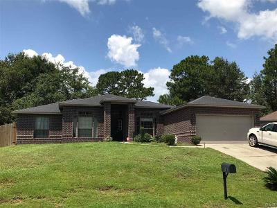 Cantonment Single Family Home For Sale: 1343 Long Branch Rd