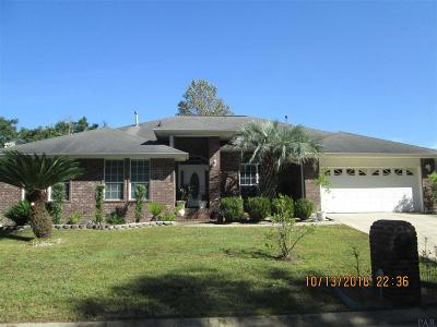 Pensacola Single Family Home For Sale: 6020 Toulouse Dr