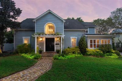 Pensacola Single Family Home For Sale: E 1902 Strong St