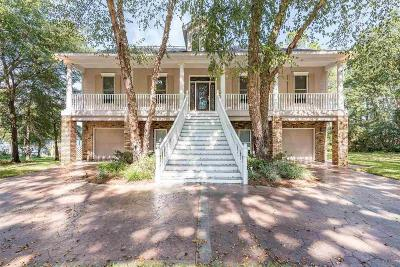 Milton Single Family Home For Sale: 7478 Old Bay Pointe Rd