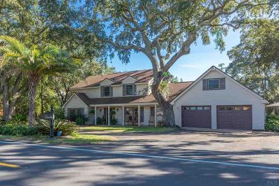 Gulf Breeze Single Family Home For Sale: 4633 Soundside Dr