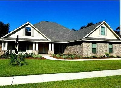 Pensacola Single Family Home For Sale: 6268 Saufley Pines Rd