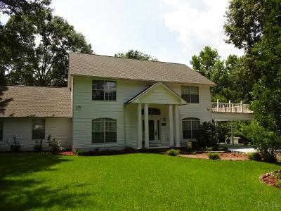 cantonment Single Family Home For Sale: 3209 Deer Ridge Rd