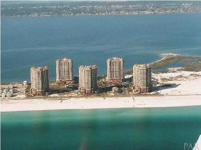 Pensacola Beach Condo/Townhouse For Sale: 2 Portofino Dr #1504