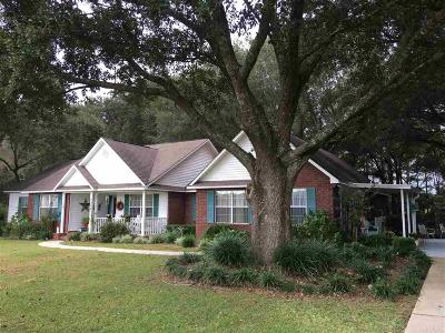 Pace Single Family Home For Sale: 5948 Loop Rd