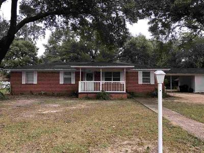 Milton Single Family Home For Sale: 5848 Carter Rd