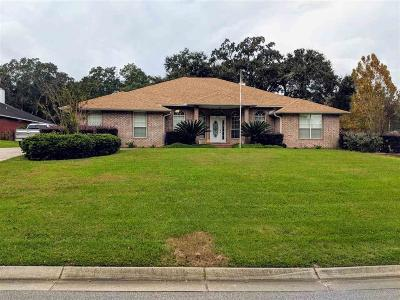 Cantonment Single Family Home For Sale: 1849 Brentco Rd