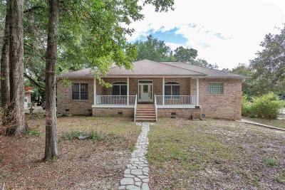 Pensacola Single Family Home For Sale: 9711 Quail Hollow Blvd