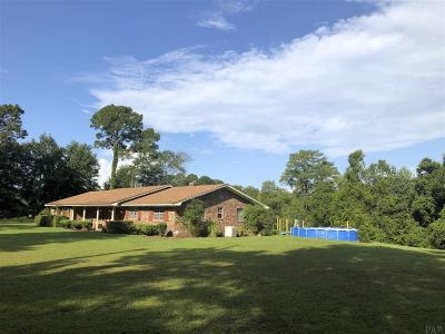 Pensacola Single Family Home For Sale: 6910 Saufley Pines Rd