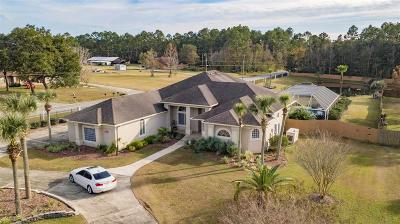 Pensacola, Pensacola Beach, Perdido, Perdido Key, Bagdad, Gulf Breeze, Milton, Munson, Navarre, Navarre Beach, Pace Single Family Home For Sale: 3553 Don Janeal Rd