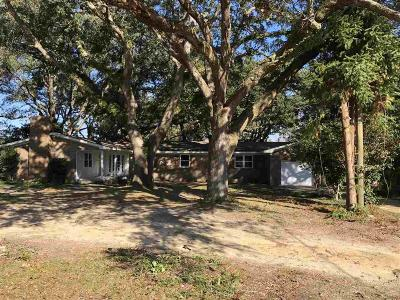 Cantonment Single Family Home For Sale: 3154 Wiggins Ln