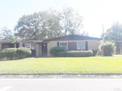 Pensacola FL Single Family Home For Sale: $65,500