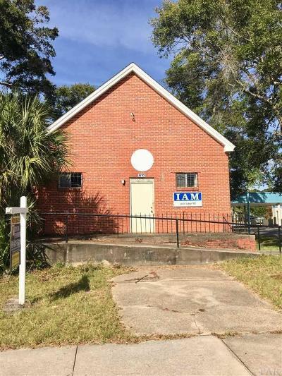 Pensacola Single Family Home For Sale: W 610 Garden