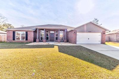 Pace Single Family Home For Sale: 5535 Cane Syrup Cir