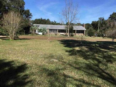 Pensacola Single Family Home For Sale: E 2550 Olive Rd