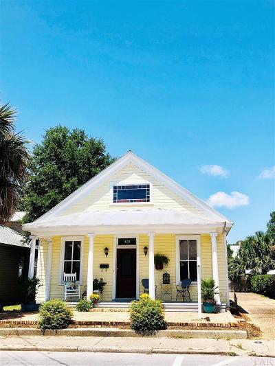 Pensacola Single Family Home For Sale: E 428 Government St