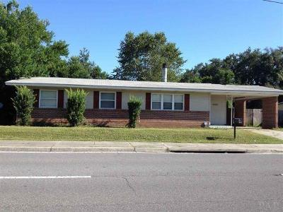 Pensacola FL Single Family Home For Sale: $130,000