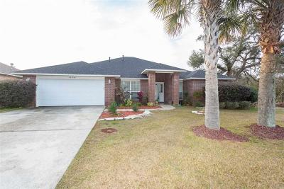 Pensacola Single Family Home For Sale: 10991 Country Ostrich Dr