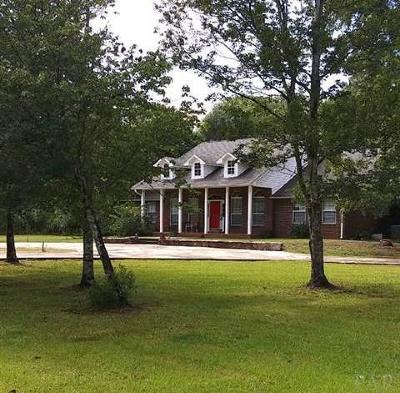 Milton Single Family Home For Sale: 7168 Richard Ln Rd