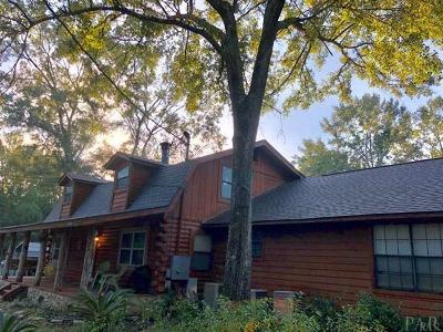 Cantonment Single Family Home For Sale: S 1062 Hwy 97