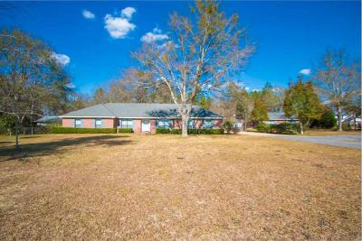 Escambia County Single Family Home For Sale: 3650 Crabtree Church Rd