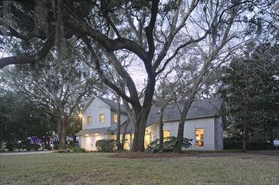 Gulf Breeze Single Family Home For Sale: 515 Navy Cove Blvd