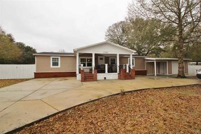 Milton Mobile Home For Sale: 5268 Old Oak Rd