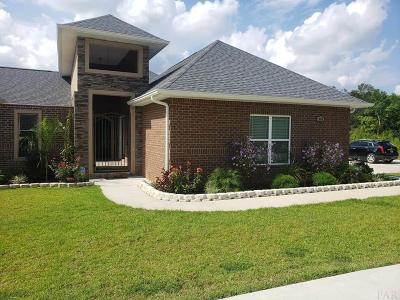 Pensacola Single Family Home For Sale: E 955 Ten Mile Rd