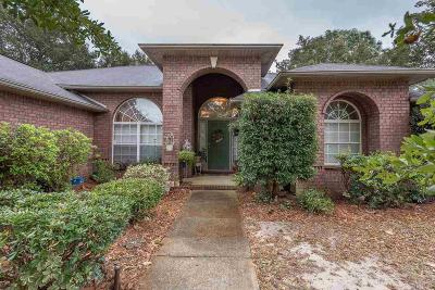 Gulf Breeze Single Family Home For Sale: 1954 Elodie Ln