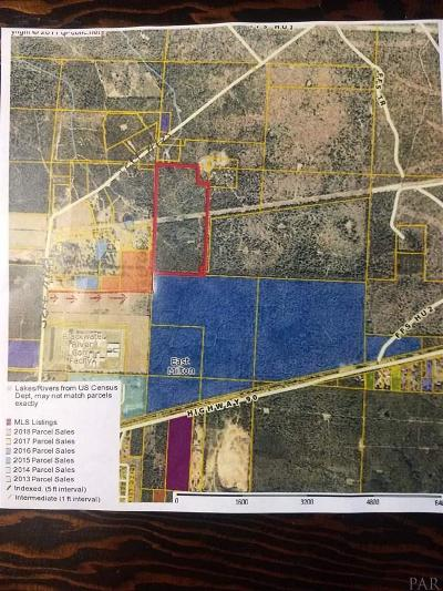 Escambia County, Santa Rosa County Residential Lots & Land For Sale: Jeff Ates Rd