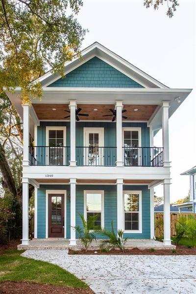 Pensacola Single Family Home For Sale: E 1340 Scott St