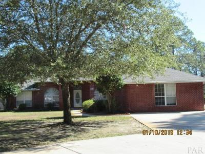 Navarre Single Family Home For Sale: 7675 Duval St