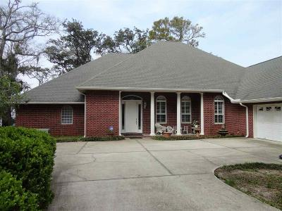 Gulf Breeze Single Family Home For Sale: 4754 Hickory Shores Blvd