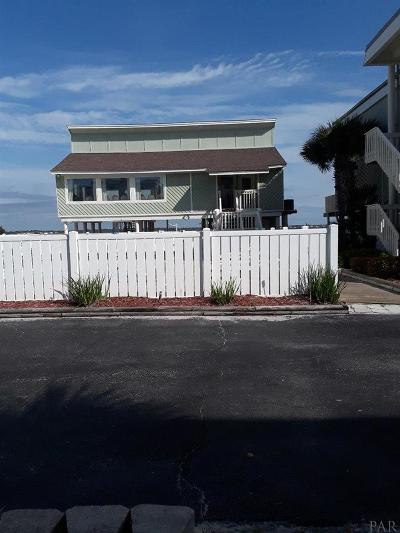 Pensacola Beach Condo/Townhouse For Sale: 1100 Ft Pickens Rd #A-9