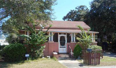 Pensacola Single Family Home For Sale: N 1122 7th Ave