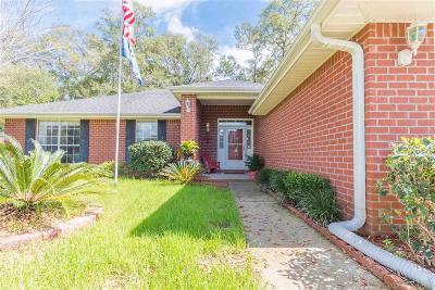 Milton Single Family Home For Sale: 5216 Hawks Nest Dr