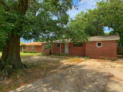 Pensacola FL Single Family Home For Sale: $189,900