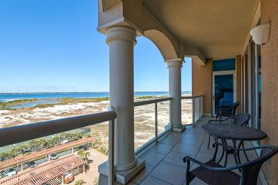 Pensacola Beach Condo/Townhouse For Sale: 3 Portofino Dr #906