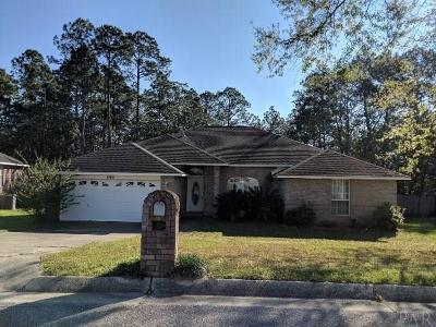 Cantonment Single Family Home For Sale: 1808 Condor Dr