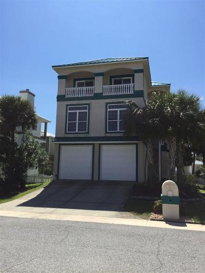 Perdido Key Single Family Home For Sale: 382 Gulfview Ln