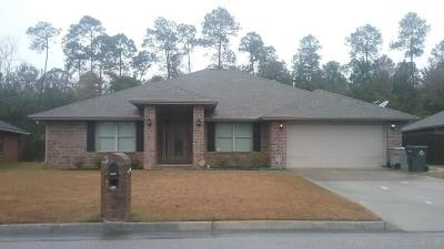 Cantonment Single Family Home For Sale: 9759 Harlington St