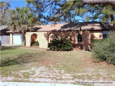 Pensacola FL Single Family Home For Sale: $157,500