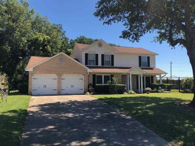 Pensacola Single Family Home For Sale: 221 Mirabelle Cir